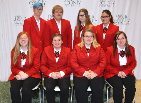 2019-2020 FCCLA Officers