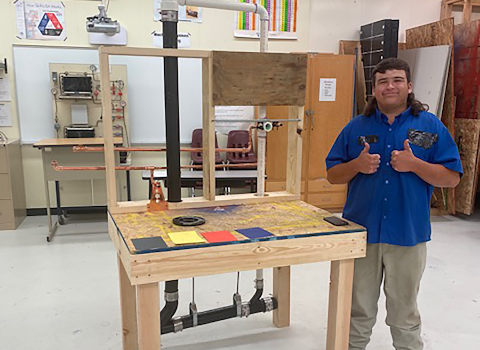 Student Places 4th in the Nation in Skills USA