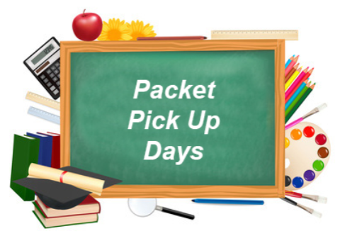 Packet Pick Up Days