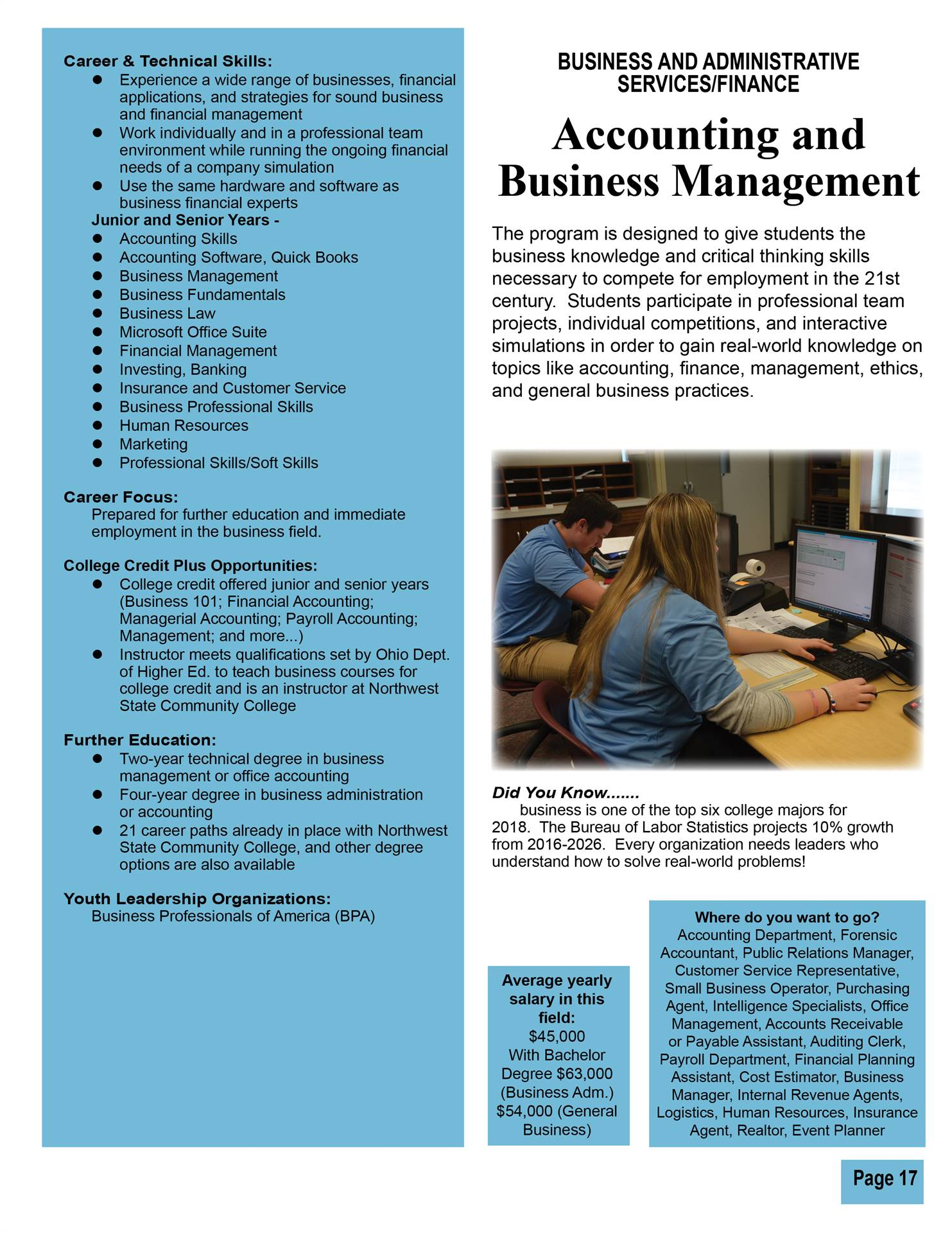 Accounting & Business Management