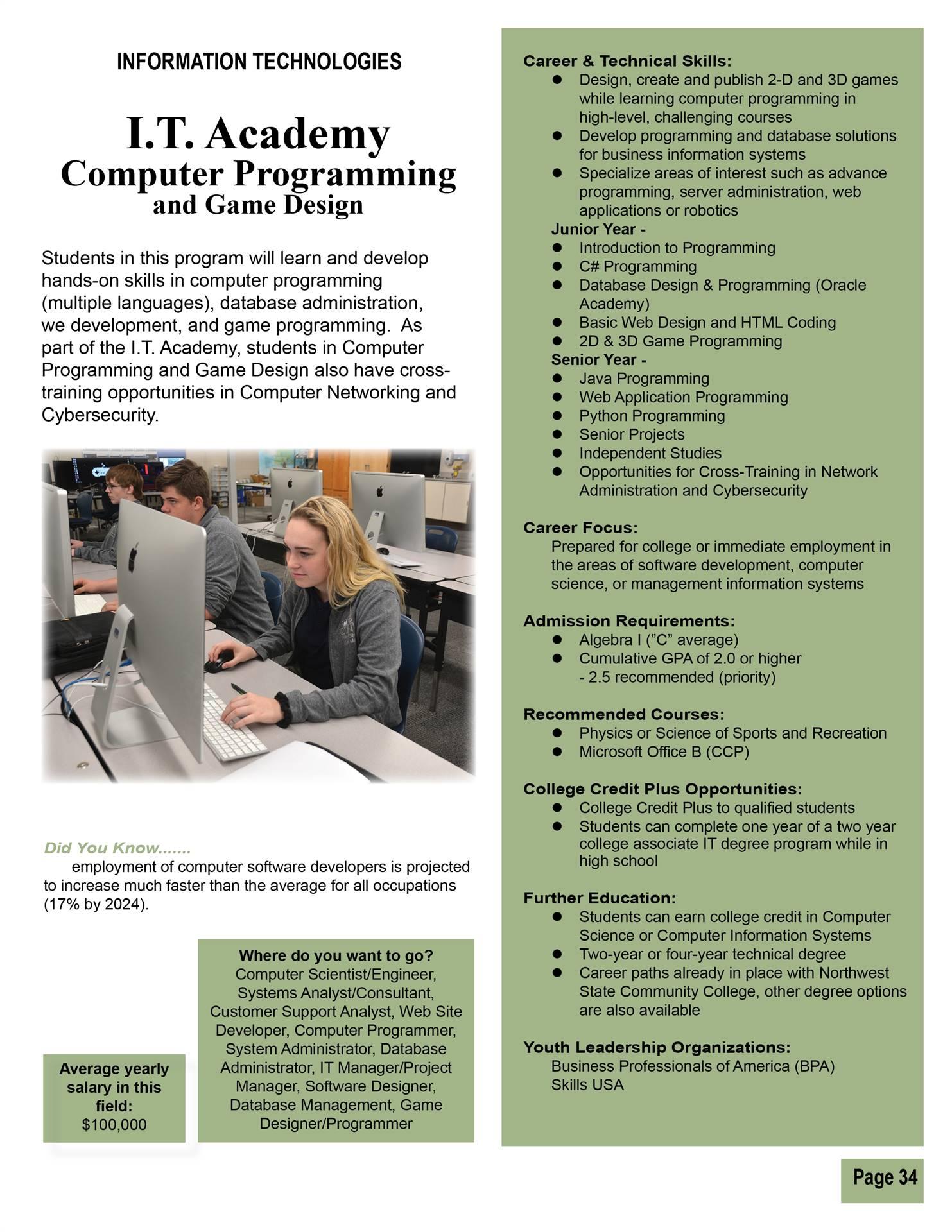 Software Development & Game Design