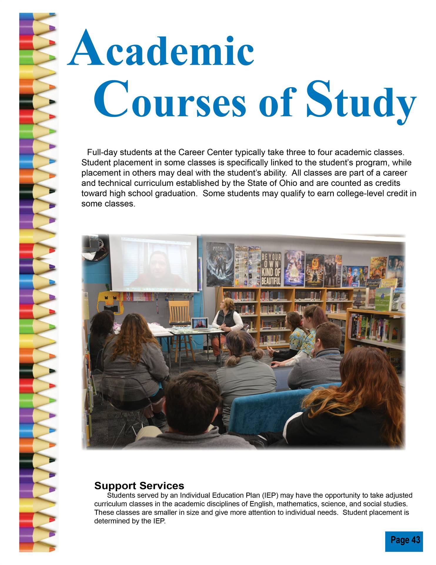 Academic Courses of Study