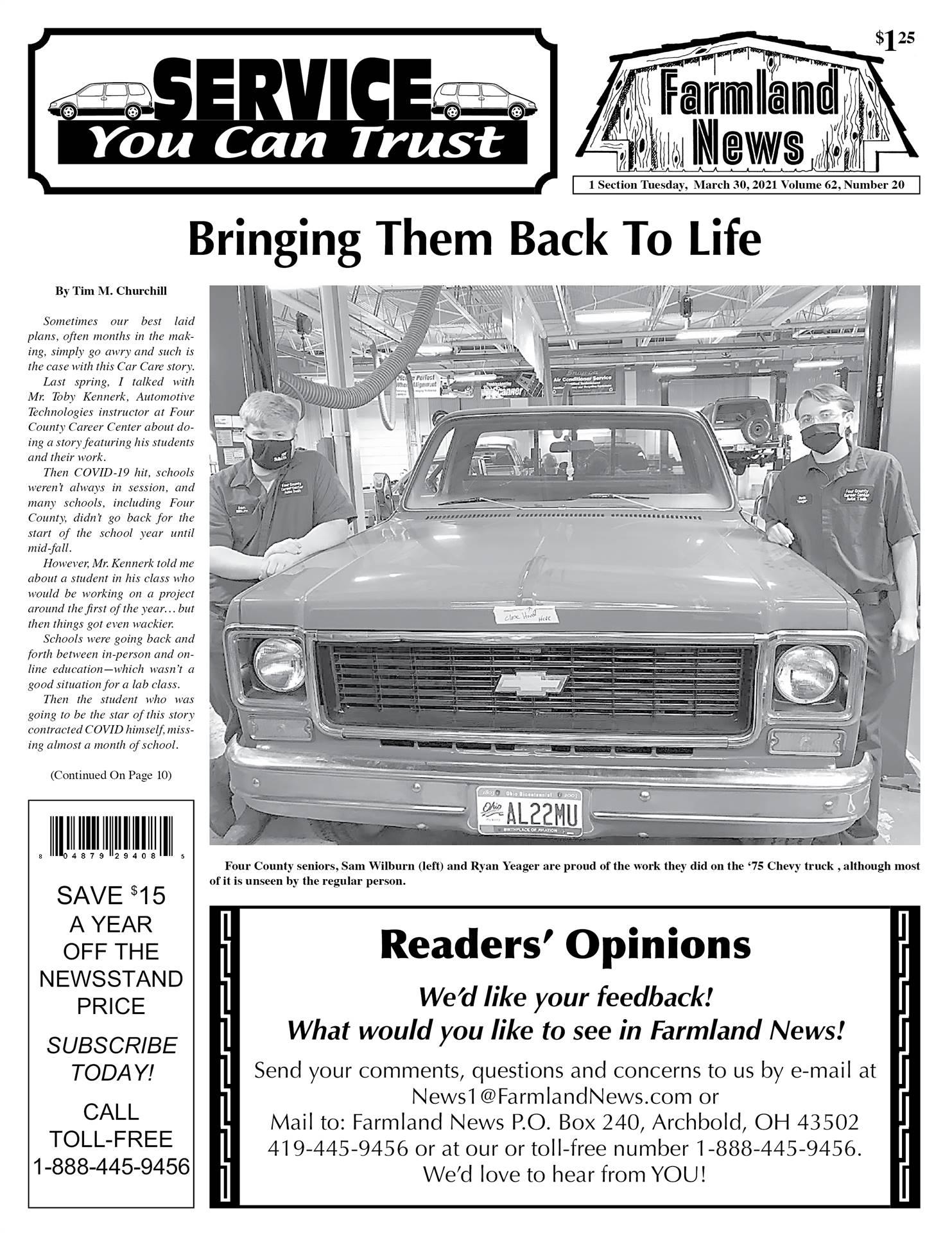 Farmland News Story - Page1