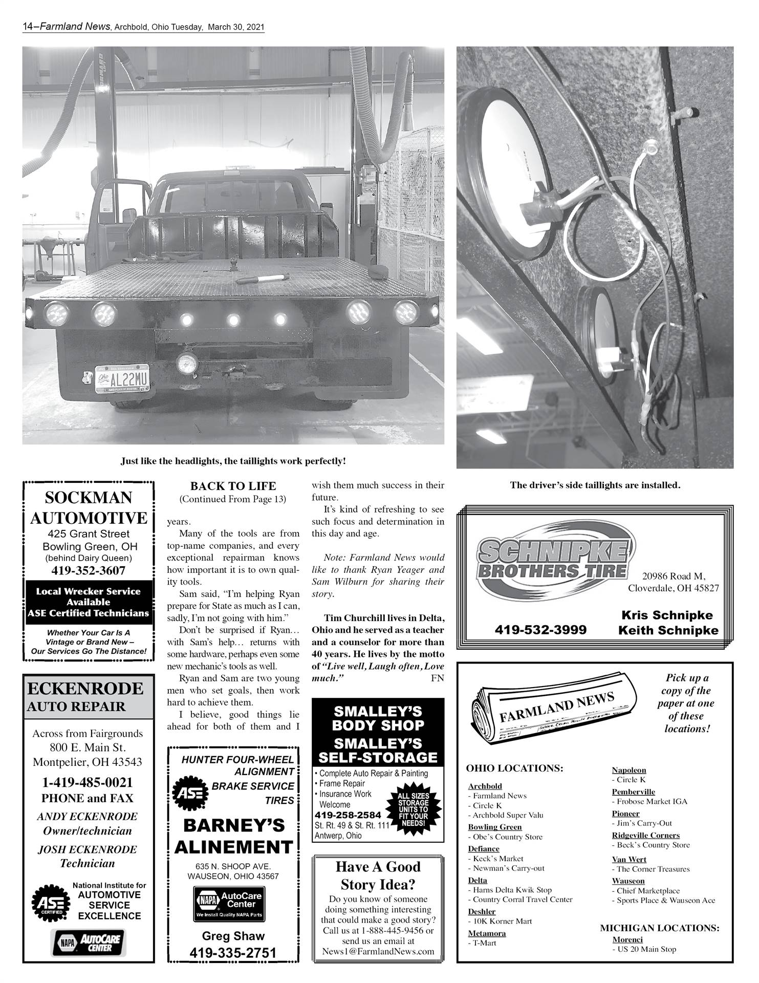 Farmland News Story - Page 6