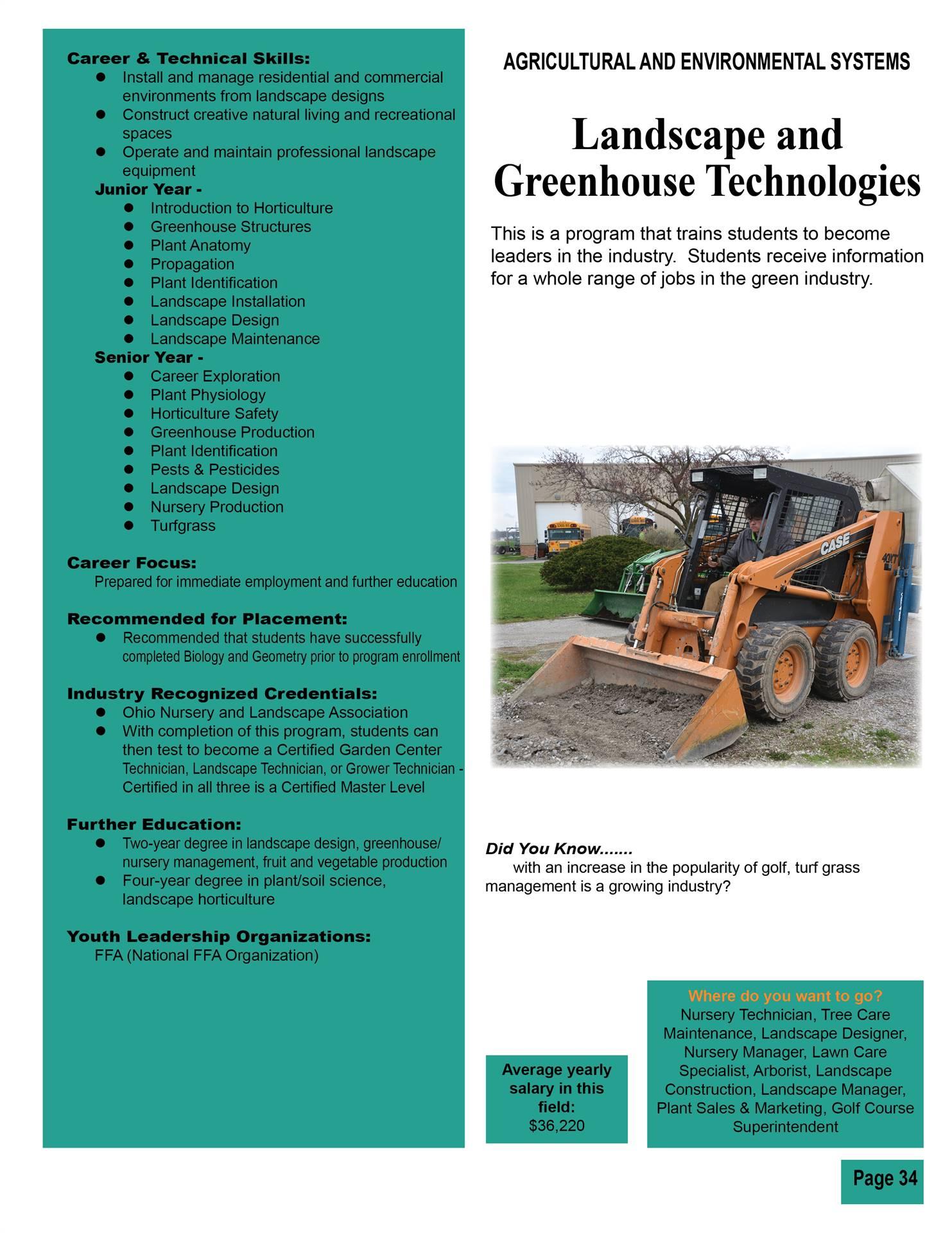 Landscape & Greenhouse Technologies