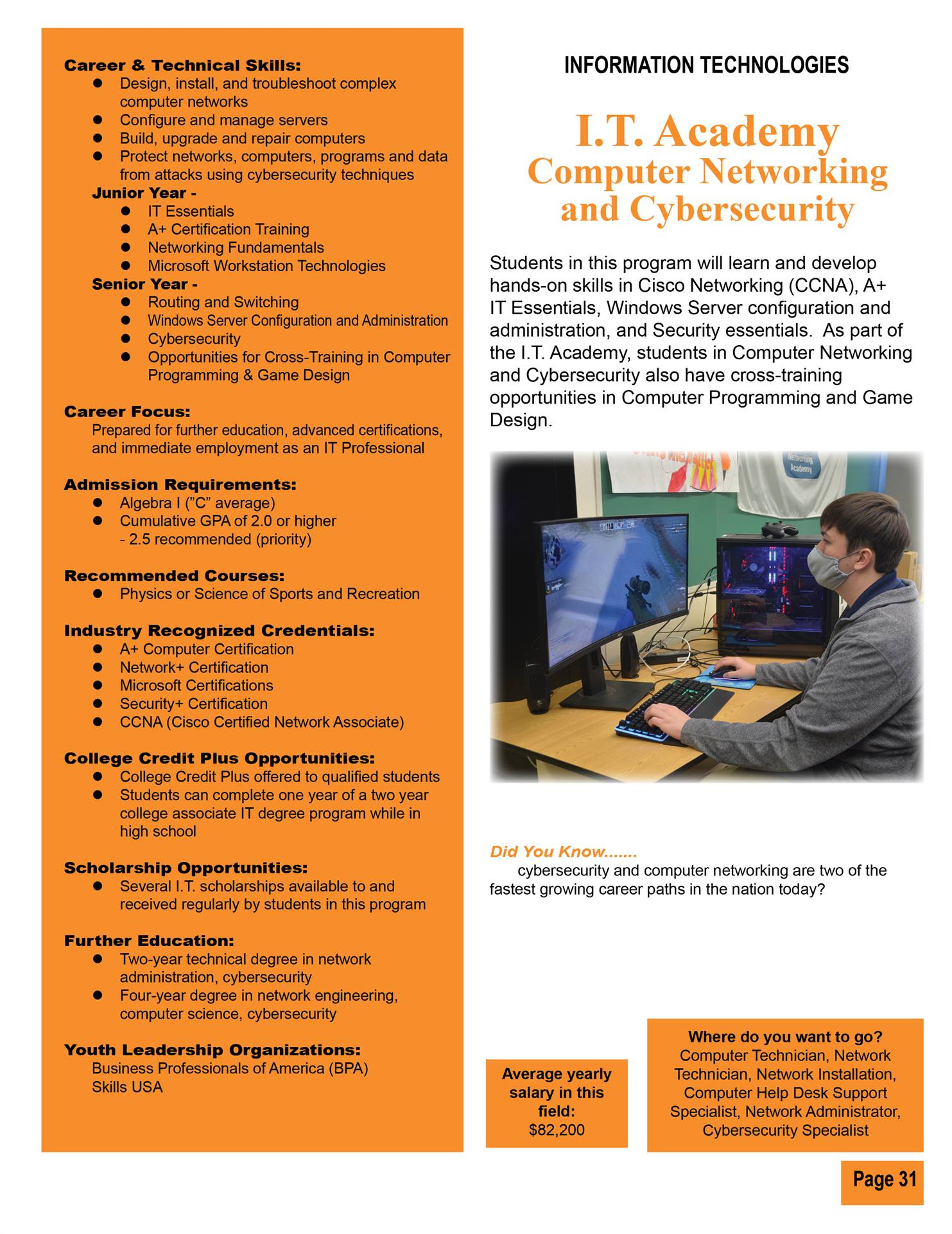 Computer Networking & Cybersecurity