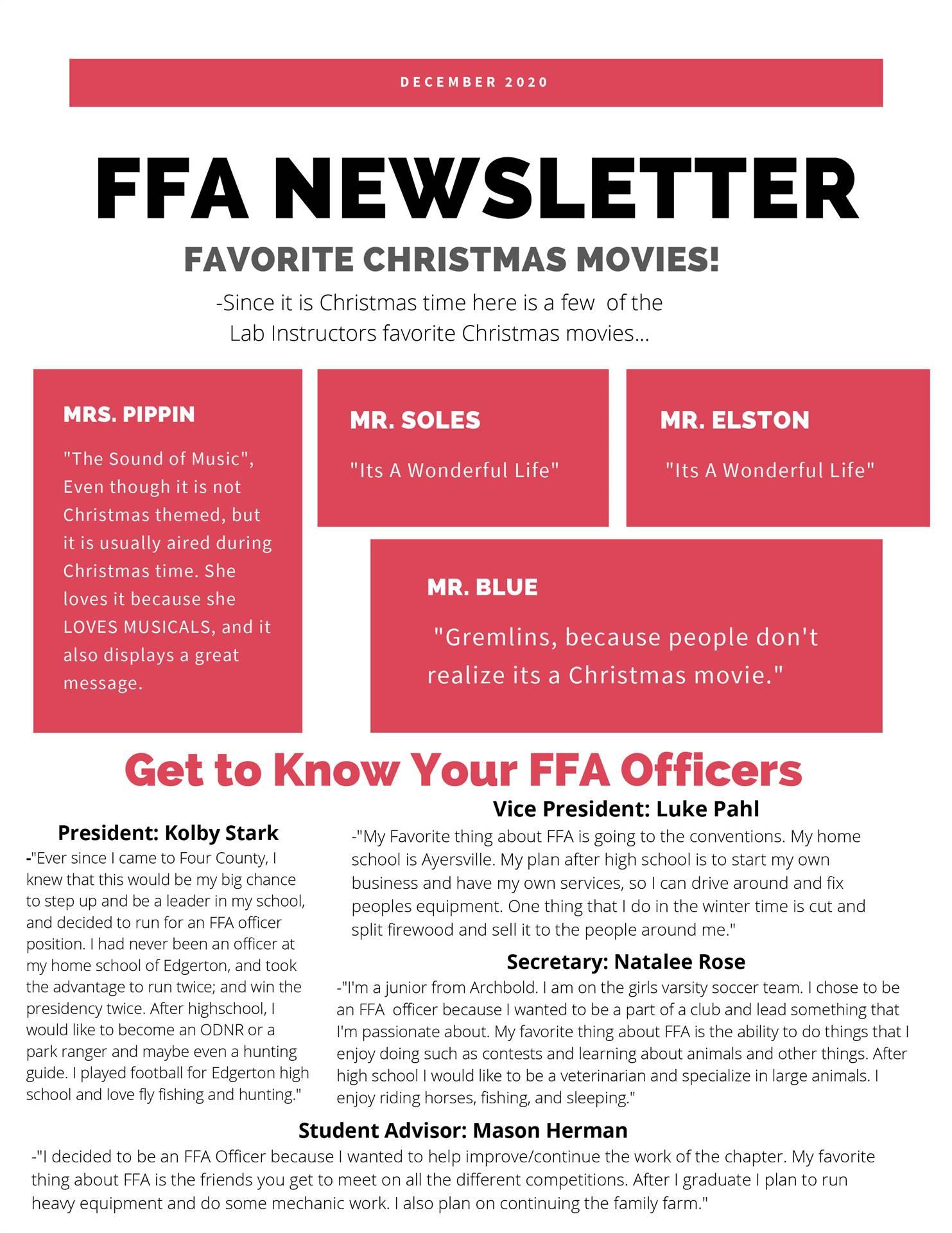 December Newsletter 1